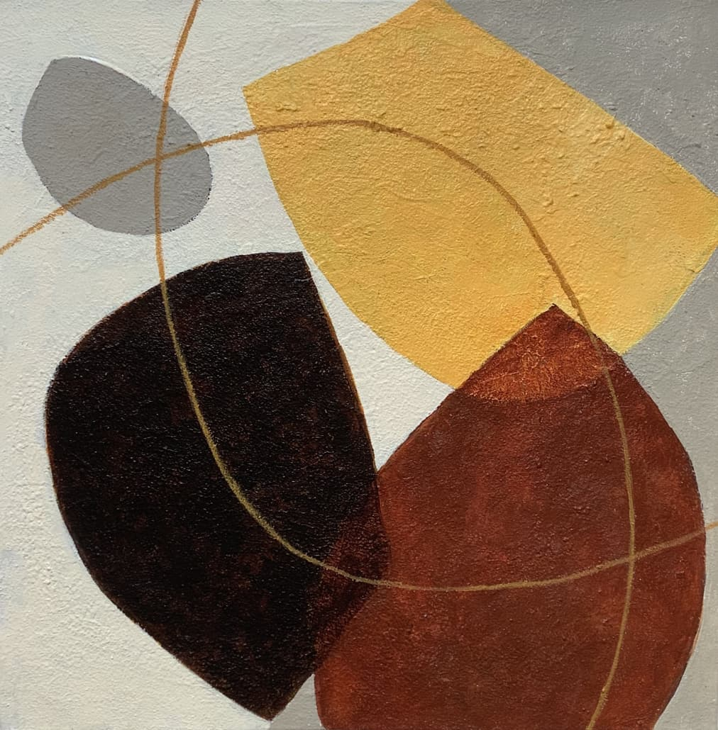 Vormen, acryl (55x55)